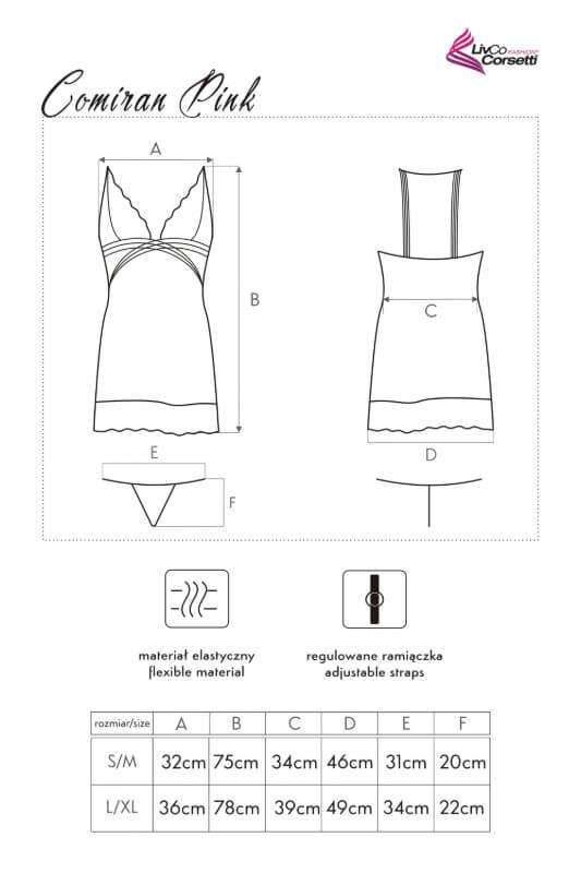 Camisa de Noite Comiran - Livia Corsetti