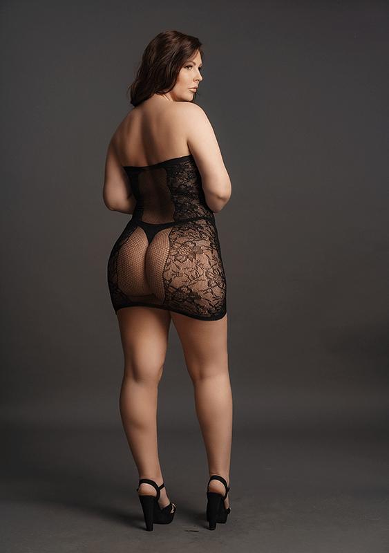 Mini Vestido Strapless Le Désir by Shots Tamanho Grande