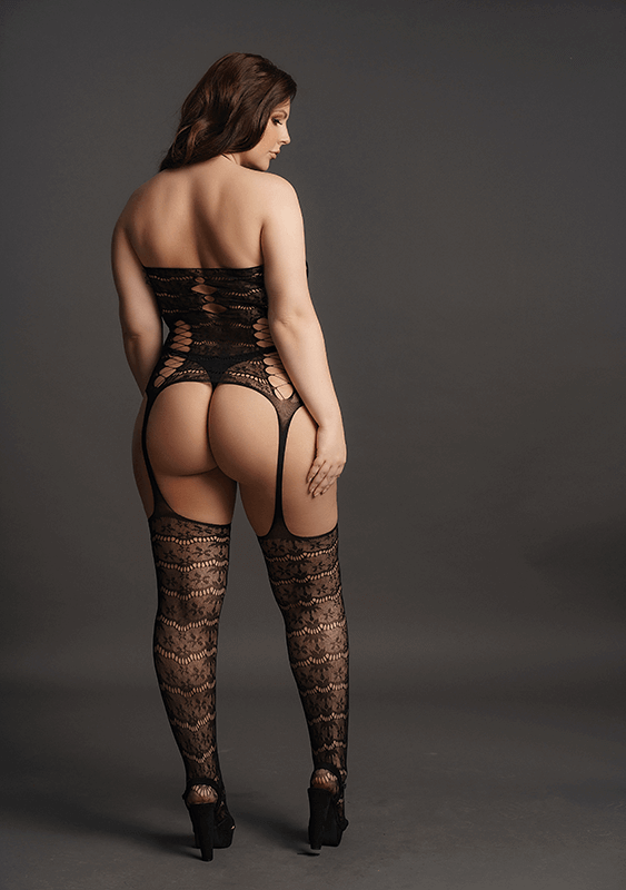 Opaque Bodystocking Le Désir by Shots Tamanho Grande