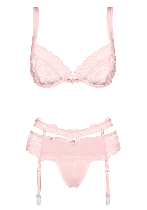 Conjunto Heartina Rosa
