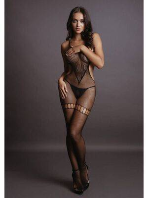 Bodystocking Fish and Fence Net Le Désir by shots