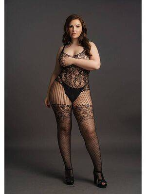 Bodystocking Lace Pattern Le Désir by Shots