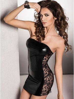 Vestido Vena Preto