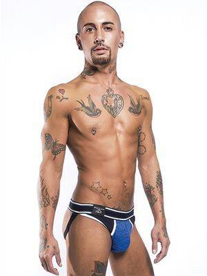 Jockstrap Mission Urban Collection by Mister B Azul