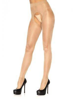Collants aberto (nude) - Leg Avenue